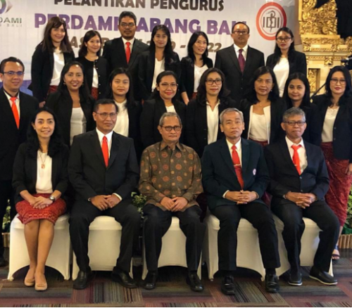 Pelantikan Perdami Cabang Bali : 2019 – 2022