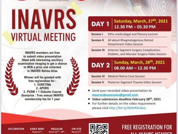 INAVRS VIRTUAL MEETING 2021